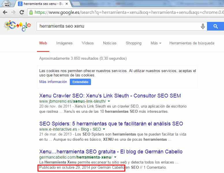 Rich Snippets Autor