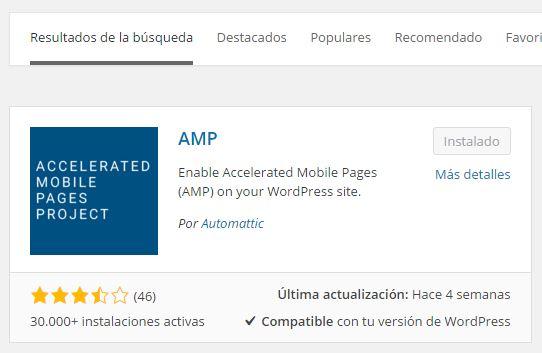 amp plugin wordpress